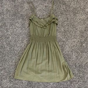 Olive Green Summer Dress from Nordstrom